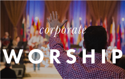 corporate worship button